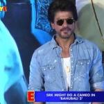 Shahrukh Khan to do a cameo in Baahubali 2 | Bollywood News | SpotboyE