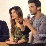 Sushant Singh Rajput Talks ARROGANTLY to a Journalist at the trailer launch of Raabta | SpotboyE