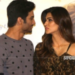 Sushant Singh Rajput Finally Admits That He Is In Love With Kriti Sanon during Raabta Trailer Launch | SpotboyE