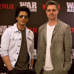 Brad Pitt Is In Mumbai And Hanging Out With Shahrukh Khan! | SpotboyE