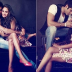 CAUGHT! Krystle D'Souza and Boyfriend Karan Tacker Together in a Vanity Van | TV