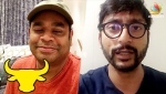 Jallikattu Protest : AR Rahman to end fast today | RJ Balaji request to the supporters