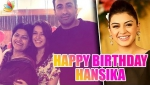 Hansika Motwani turns 26 in style : Birthday Celebration | Hot Tamil Cinema Updates