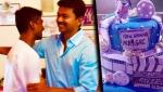 Atlee's Mersal Birthday Celebration : Vijay, Kajal Agarwal, Samantha | Teaser Release Day