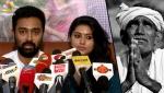 Actor Prasanna and Sneha donate money to FARMERS   Protest in Jantar Mantar