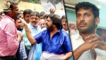 T Rajendar fights with the press & Angry Speech against Vishal, GST | Latest TR Protest