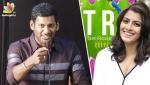 I know WHO & WHERE are Tamil Rockers : Vishal Speech | Piracy, Varalakshmi, Thupparivalan Press Meet