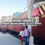 Podcast 29 - Urvashi Dholakia aboard the Silly Express.