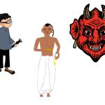 The Brahman, The Thief and the Demon (ब्राह्मण, चोर और दानव ) Hindi Story