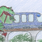 Dragon Train- a calming story for children