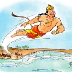 Book 5 Canto 1 Leap to Lanka