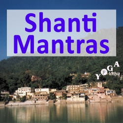 Shanti Mantra recites by Harilalji