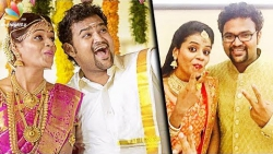 Super Singer Sathyaprakash's intimate Wedding & Reception | Vijay TV Star