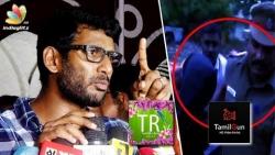 ARRESTED! Tamil Rockers Admin in police custody | Vishal Speech on Piracy Website