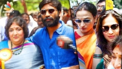 Dhanush, Soundarya & Latha Rajinikanth join Child Abuse Rally | Social Awareness