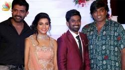 Vijay Sethupathi, Arun Vijay at Dharan's Wedding Reception | Tamil Music Director Marriage