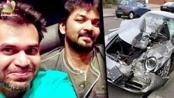 Jai faces arrest for Drunken Driving car accident | Premgi Amaren, Latest News