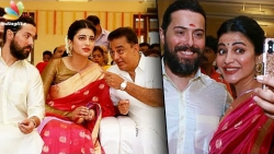 British boyfriend in Veshti for Kamal! | Shruti Hassan, Michael Corsale at Aadhav Wedding