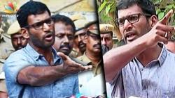 "2 Persons ""Missing"", Says Actor Vishal | Hot Tamil Cinema News | RK Nagar Election"