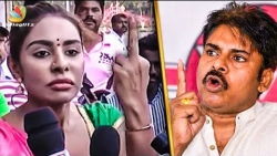 Sri Reddy's Abusive Reply to Pawan Kalyan | Sri Leaks | Hot News