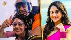 OMG ! Mia George's Adventurous Skydiving with her Mom | Latest Tamil Cinema News