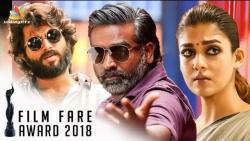 Winners: 65th Jio Filmfare Awards | Vijay Sethupathi, Nayanthara, Vijay Deverakonda | Latest News