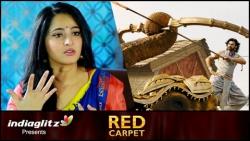 Baahubali 2' Creativity Stuns Me : Anushka Shetty Interview   SS Rajamouli, Prabhas   Red Carpet