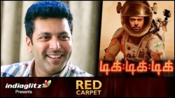 I promise Tik Tik Tik will be world-class standard : Jeyam Ravi | Sangamithra, Red Carpet Interview