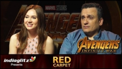 EXCLUSIVE : Avengers - Infinity War Making Interview | Karen Gillan & Director Joe Russo