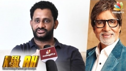 Resul Pookutty Interview On Directing Amitabh Bachchan