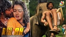 Arya ran with 50 real elephants in Kadamban teaser