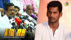 Why Vishal was suspended from Producers Council : Secretary Reelah Realah Interview