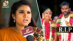 Myna Nandhini's Tearful Interview : Why avoided Husband's Funeral | Saravanan Meenatchi Actress