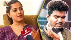 Varalakshmi Sarathkumar opens up about her role in Vijay 62 | Director AR Murugadoss | Interview