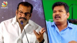I did a movie with Shankar's AD at least, if not him : Actor Napoleon Speech, Yagam