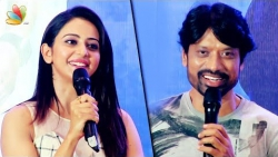 Spyder was made on a budget of 125 crores : SJ Surya and Rakul Preet Singh speech | Tamil Movie