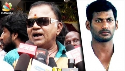 Nadigar Sangam never let me talk : Radha Ravi Comedy Speech   Vishal Troll, Fight