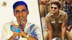 I Can't Dance Like SIMBU : Dhanush Speech | Sakka Podu Podu Raja Songs Launch
