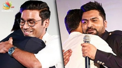 After Rajinikanth & Kamal, it's Simbu & Dhanush : Santhanam Speech | Sakka Podu Podu Raja AL