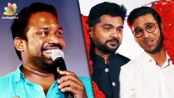 STR kalakiruvaru, Dhanush Senjiruvaru! : Robo Shankar Comedy Speech | Sakka Podu Podu Raja