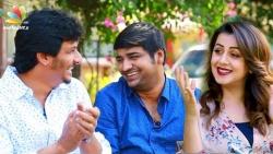 Kalakalappana interview with Jiiva, Comedian Sathish, Nikki Galrani   Tamil Movie Making