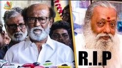 Rajinikanth's Emotional Condolence Speech for Balakumaran | Baasha, Nayagan Dialogue Writer