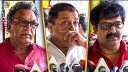 Vivek & Nassar Pays Last Respect to Balakumaran | Sivakumar | Baasha, Nayagan Dialogue Writer