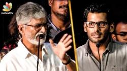 பேசுறது முக்கியம் இல்ல : SA Chandrasekhar Request for Vishal | Nungambakkam Trailer Launch
