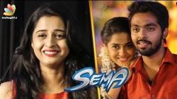 Sema Heroine in Tears : Arthana Binu | G. V. Prakash Kumar | Sandali Song