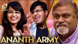 We Created Army for Ananth Vaidyanathan : Rakshitha & Keshav | Super Singer Finals | Bigg Boss Tamil