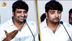 I Was Fooled by Janani : Sathish Speech | Vedigundu Pasangge Audio Launch