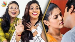 How do we Shoot Kissing Scenes ? : Iniya Sisters Interview | Thara