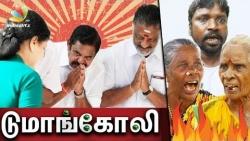 Doomangoli, AIADMK gaali ! Public Opinion on EPS, OPS factions Merger | Jayalalitha Death