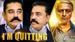 I'm Quitting Cinema : Kamal Hassan Interview   Viswaroopam 2 Making   Bigg Boss Tamil